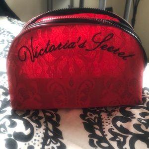 Victoria's Secret cosmetic bag.